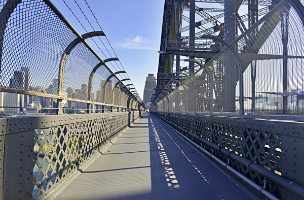 Sydney Harbour Bridge Walkway, Sydney, Australia