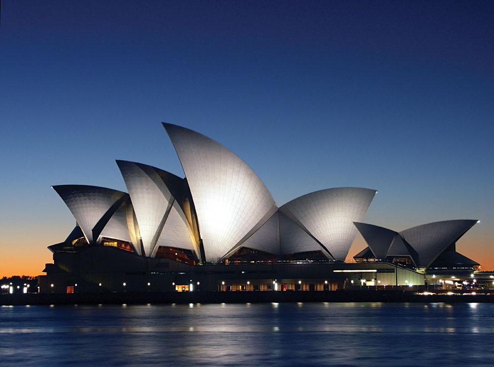 Sydney Opera House Close Up, Sydney, Australia