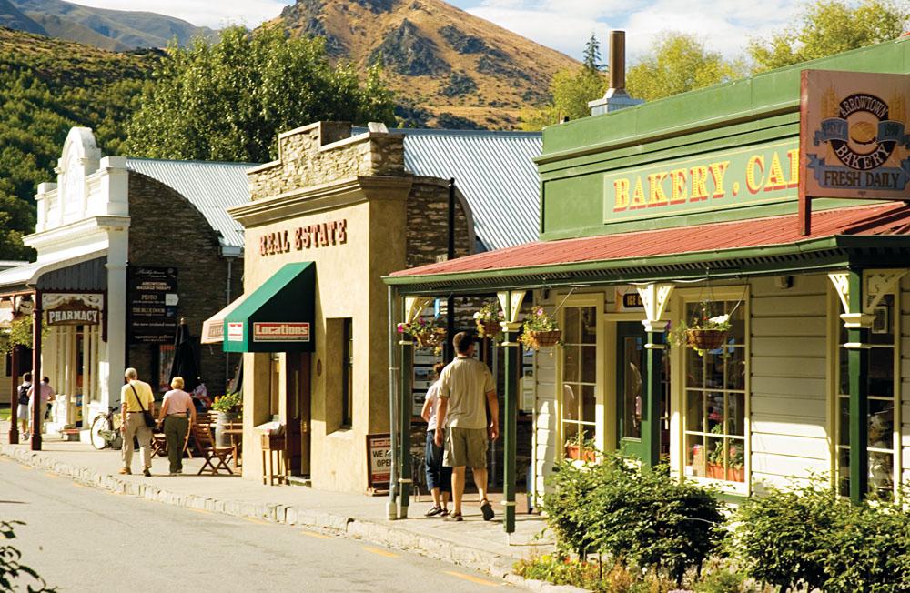 Arrowtown in Summer, South Island, New Zealand