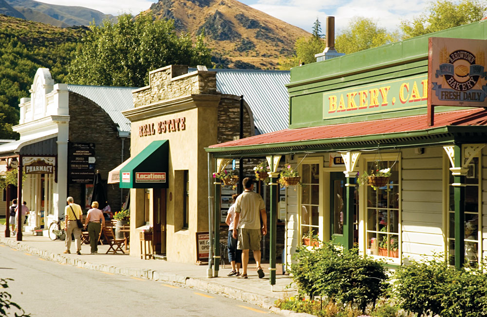 Arrowtown in Summer, South Island, New Zealand