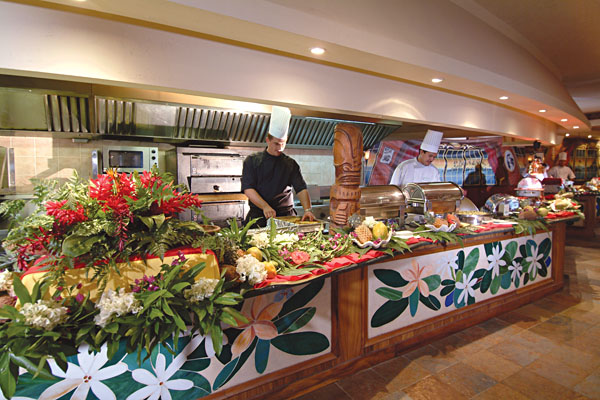 Buffet, InterContinental Tahiti Resort & Spa, French Polynesia