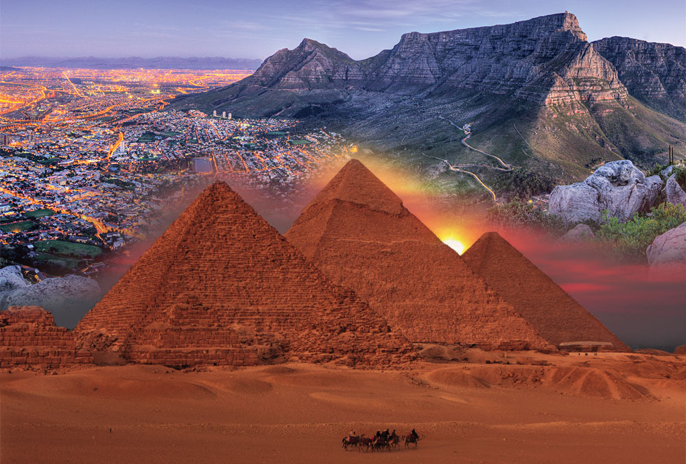 Cape to Cairo Cape Town Pyramids Blend