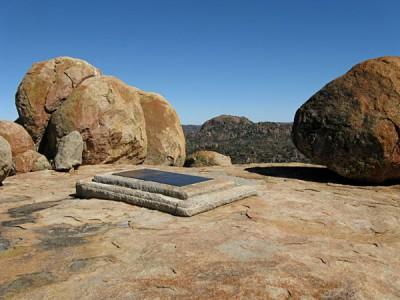 Cecil Rhodes' Grave, Matobo Hills, Zimbabwe