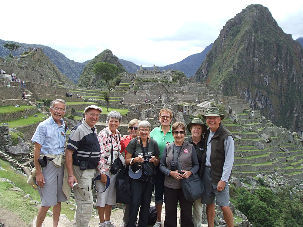 HOL Group at Machu Picchu, Peru