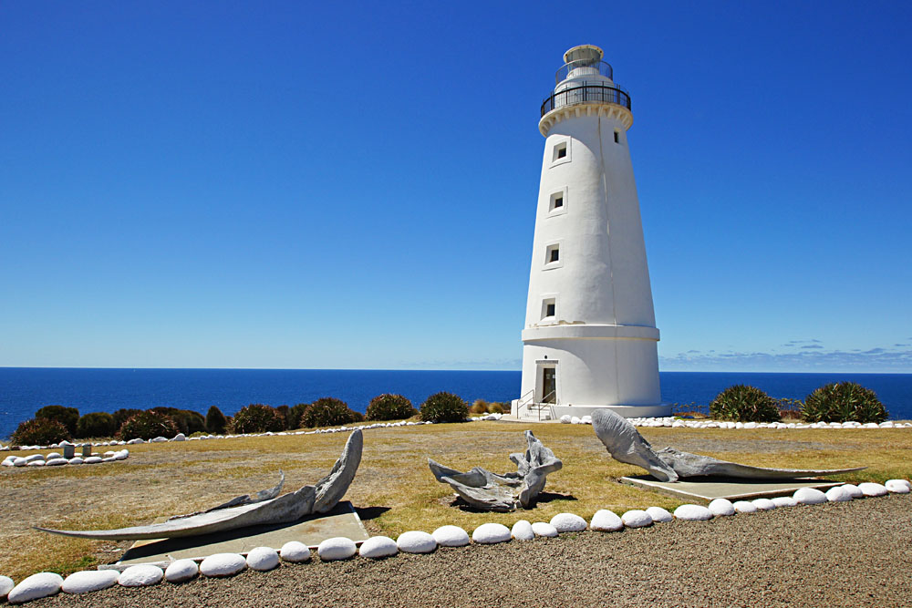 Lighthouse of Cape Willoughby, Kangaroo Island, Australia