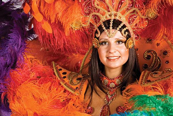Rio Carnival Dancer, Brazil