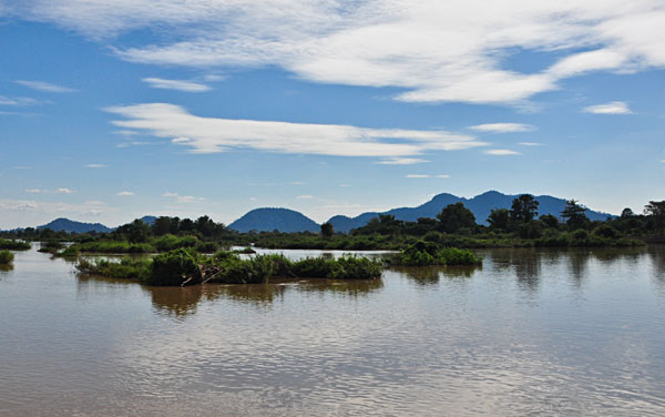 Si Phan Don, the famed 4000 Islands, Laos