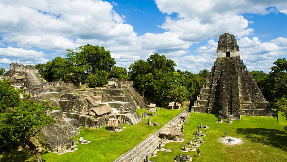 Tikal Mayan Ruins and Temples, Guatemala