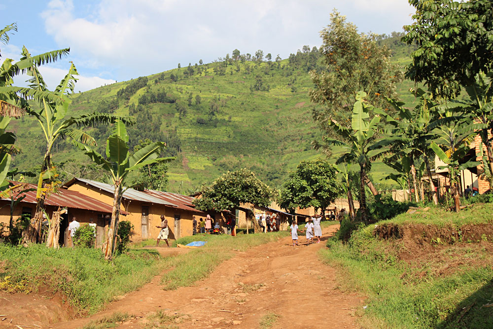 Town of Bwindi, Uganda