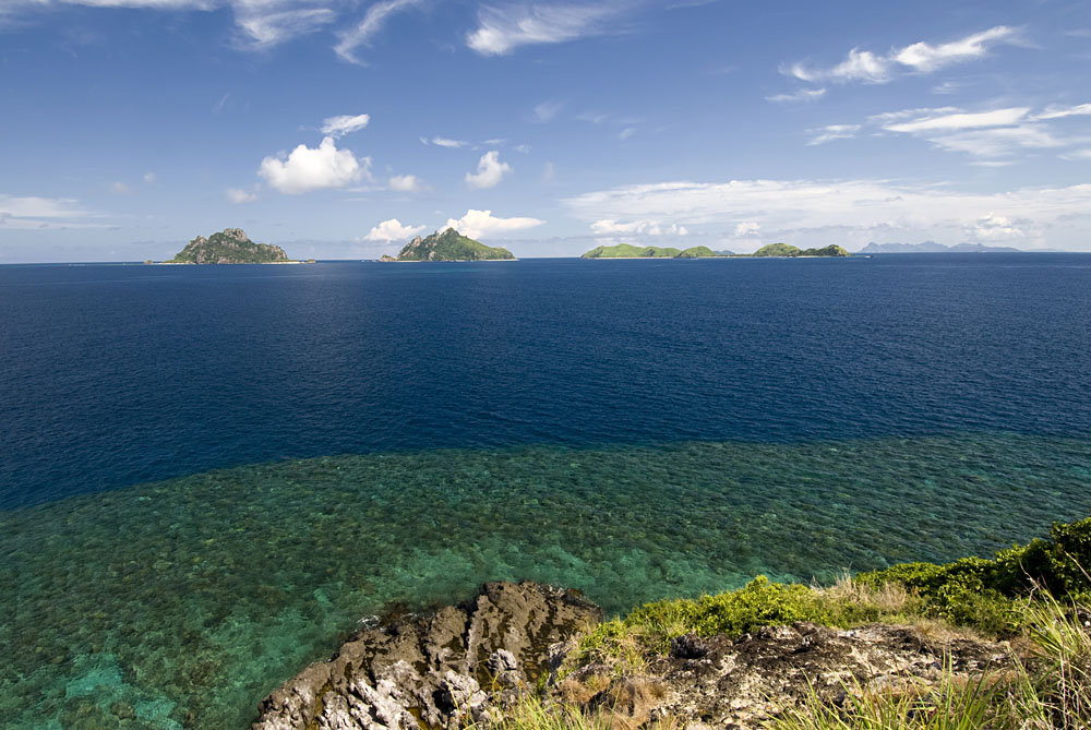 View of Mamanuca Group of Islands, Fiji