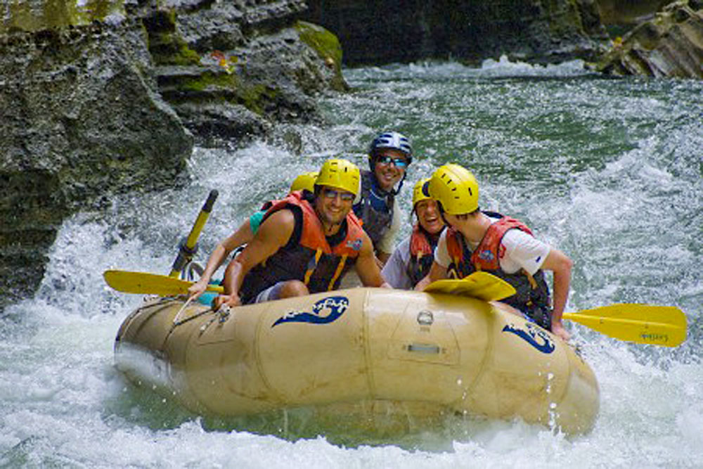 White Water Rafting in Upper Navua River, Fiji