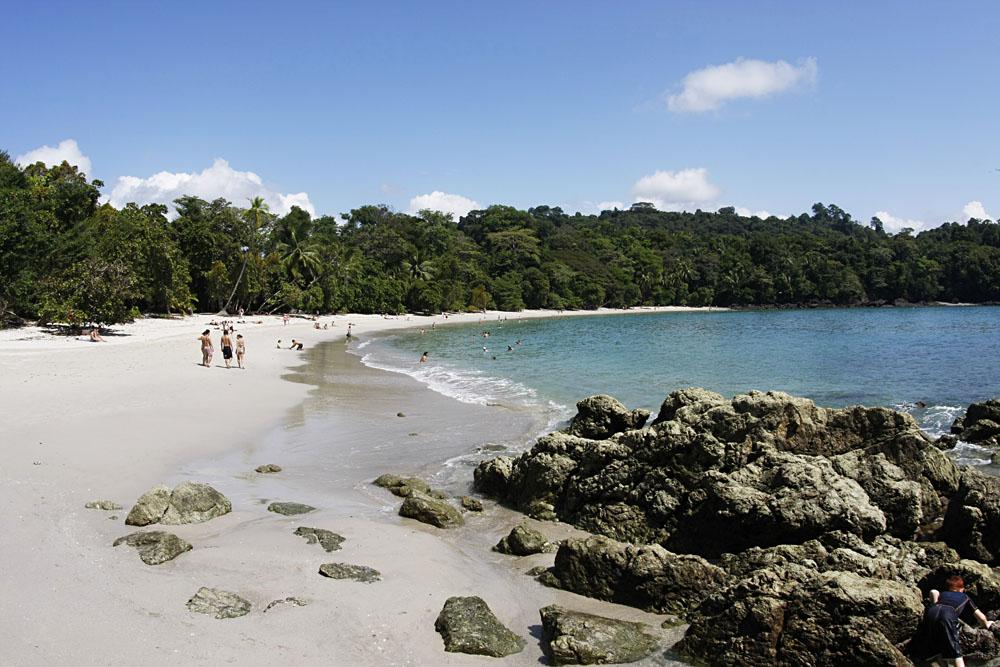 Beach in Manuel Antonio National Park, Costa Rica