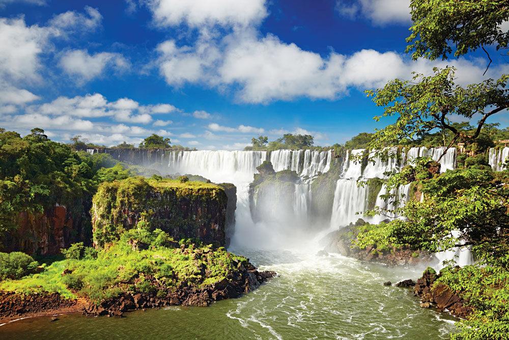 Beautiful Iguassu Falls from Argentinian Side, Argentina