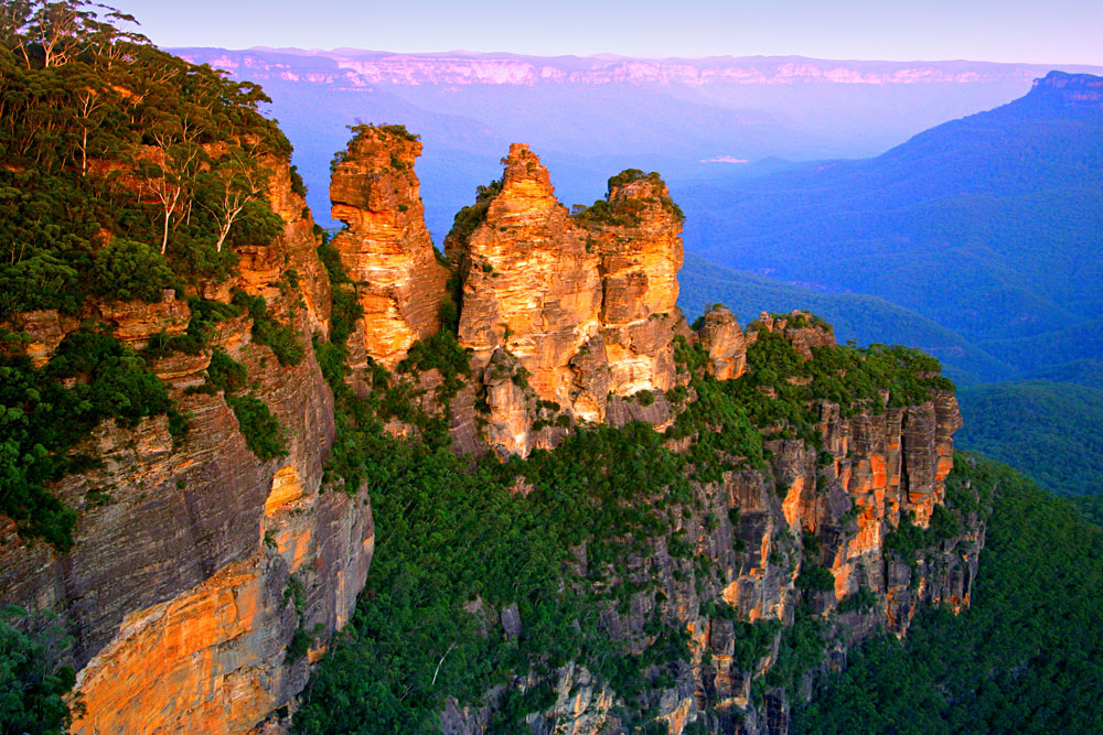 Blue Mountains National Park - Three Sisters, New South Wales, Australia