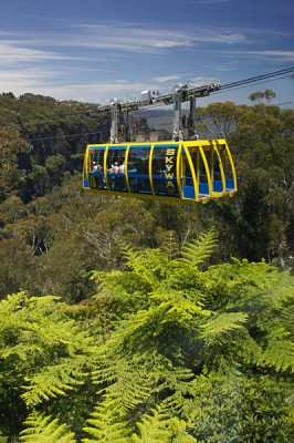 Blue Mountains - Scenic Skyway, New South Wales, Australia