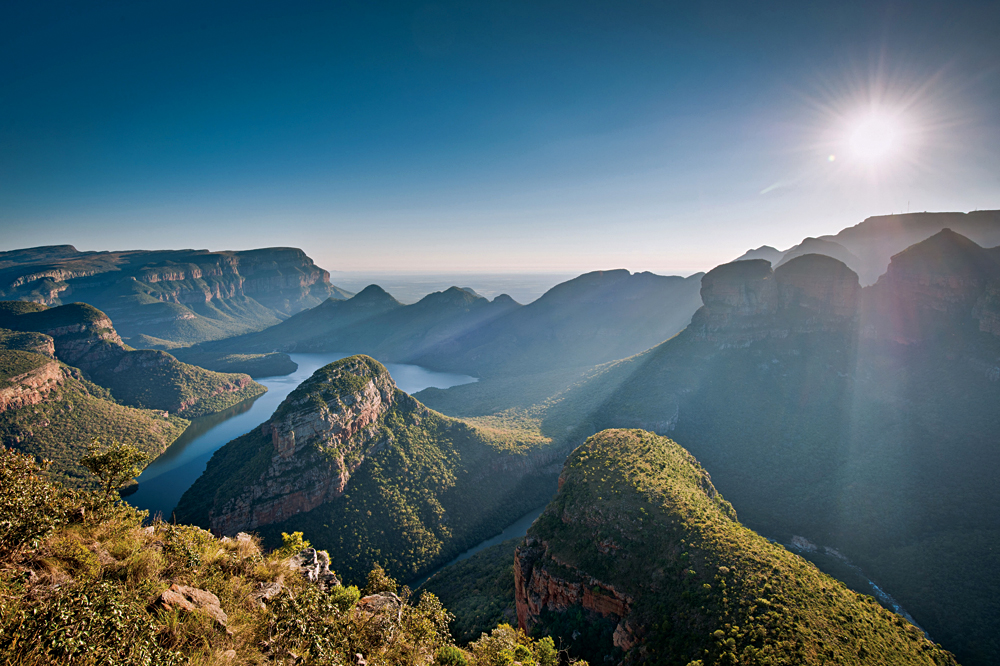 Blyde River Canyon Aerial View, Kruger, South Africa