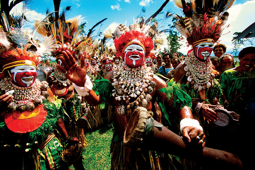 Colourful Tribe, Papua New Guinea