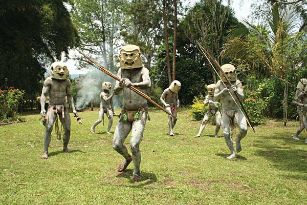 Goroka Mudman, Papua New Guinea