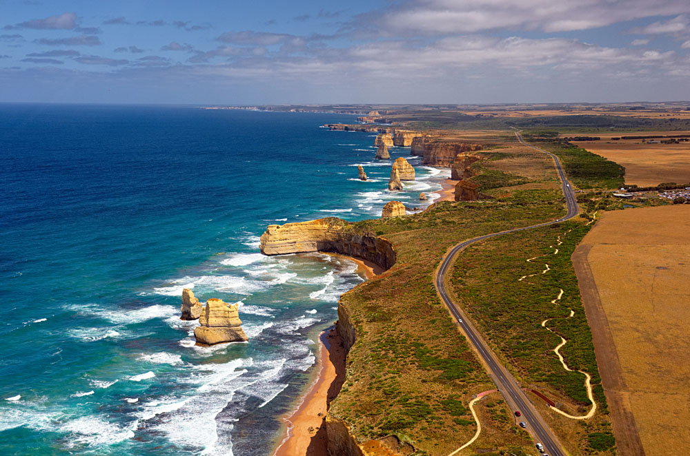 Great Ocean Road and 12 Twelve Apostles, Victoria, Australia