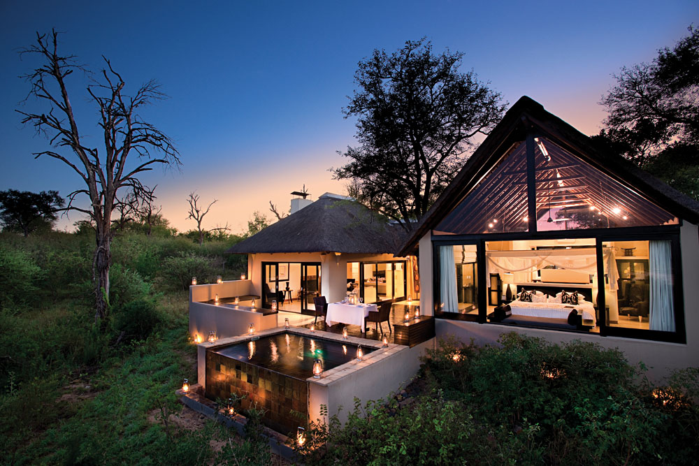 Lion Sands Ivory Lodge, Kruger National Park, South Africa