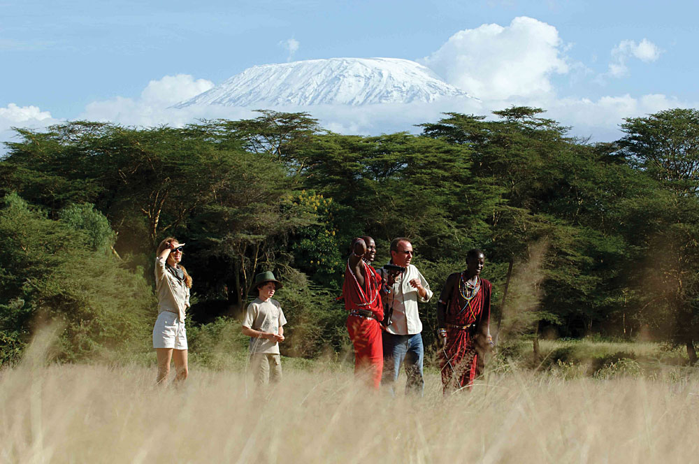 Nature Walk at Serena Lodge, Amboseli National Park, Kenya
