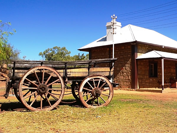 Old Telegraph Station, Alice Springs, Northern Territory, Australia