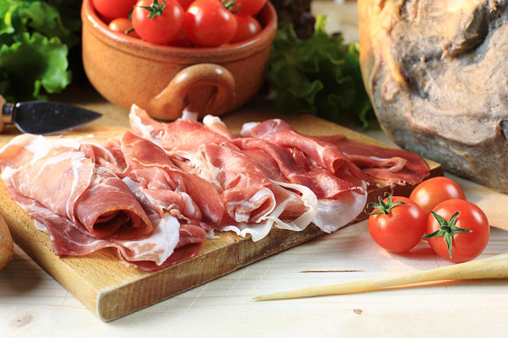Prosciutto from Parma, Italy