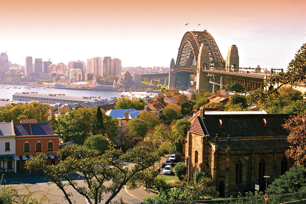 Rocks District in Sydney, Australia