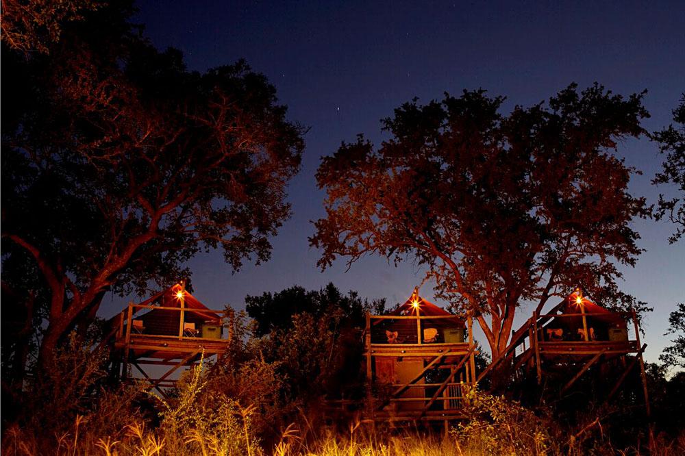 Sleepout Decks at Plains Camp, Kruger National Park, South Africa