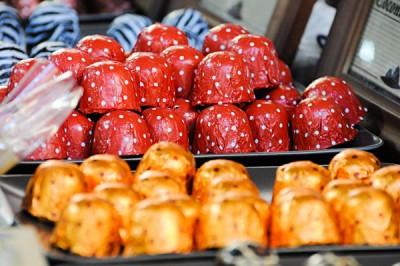 Sweet Treats in the Rocks Street Market, Sydney, New South Wales, Australia