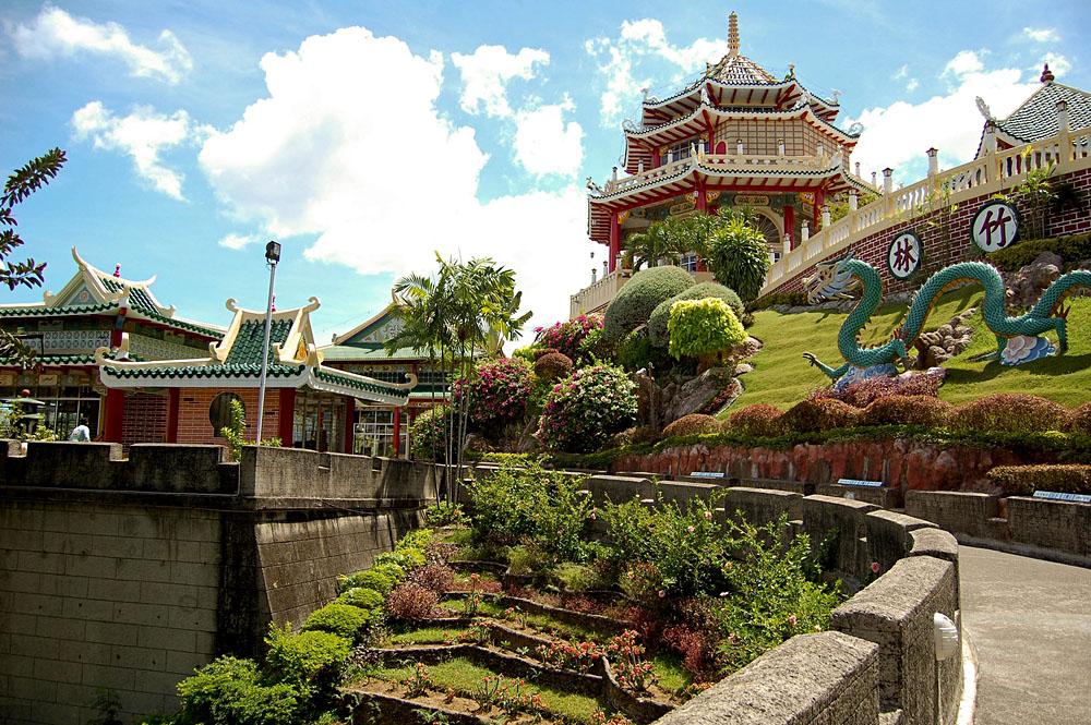 Taoist Temple and Garden in Cebu, Philippines