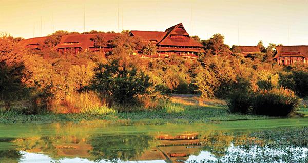 Victoria Falls Safari Lodge Exterior, Zimbabwe