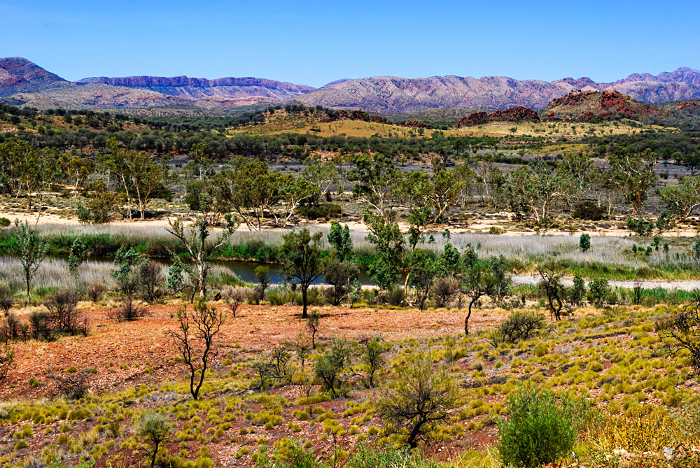 West Macdonnell Ranges in the Outback, Australia