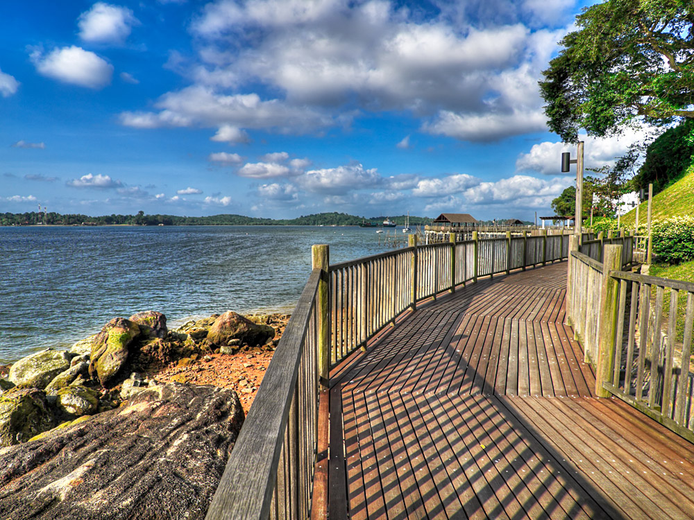 Changi Beach Boardwalk, Singapore