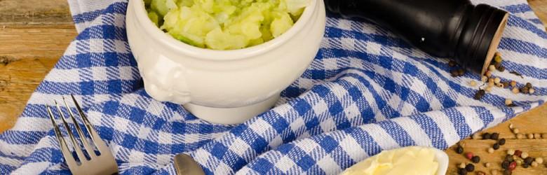 Colcannon Irish Mashed Potatoes