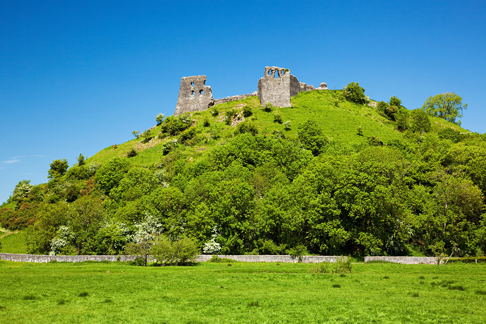Dryslwyn Castle, Carmarthenshire, Wales, UK