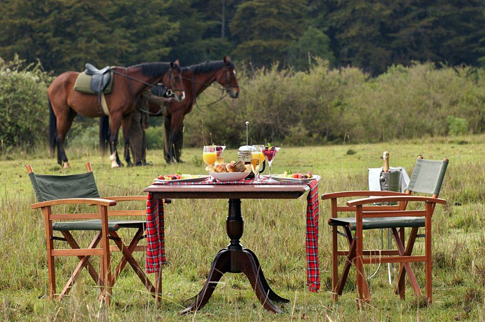 Fairmont Mount Kenya Safari Club - Horseriding and Lunch, Kenya