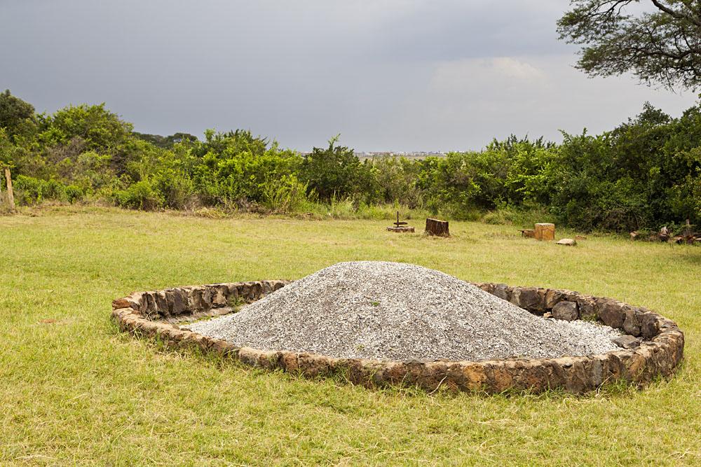 Famous Ivory Burning Site Monument in Nairobi National Park, Kenya