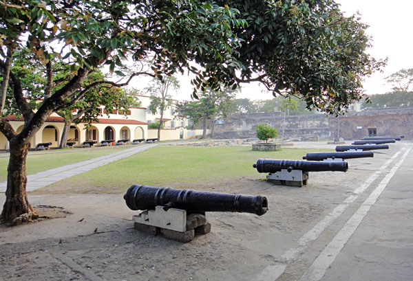 Fort Jesus Cannon Yard, Mombasa, Kenya