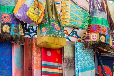 Indian Handbags for Sale in Little India Arcade, Singapore