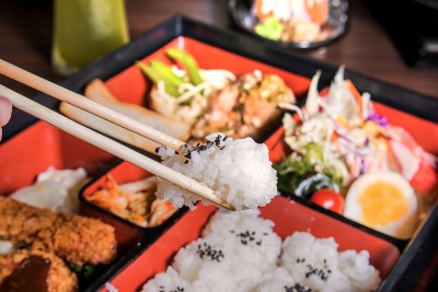 Japanese Cuisine in Bento Box, Japan