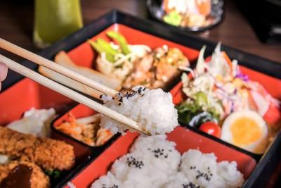 Japanese Cuisine in Bento Box, Japan