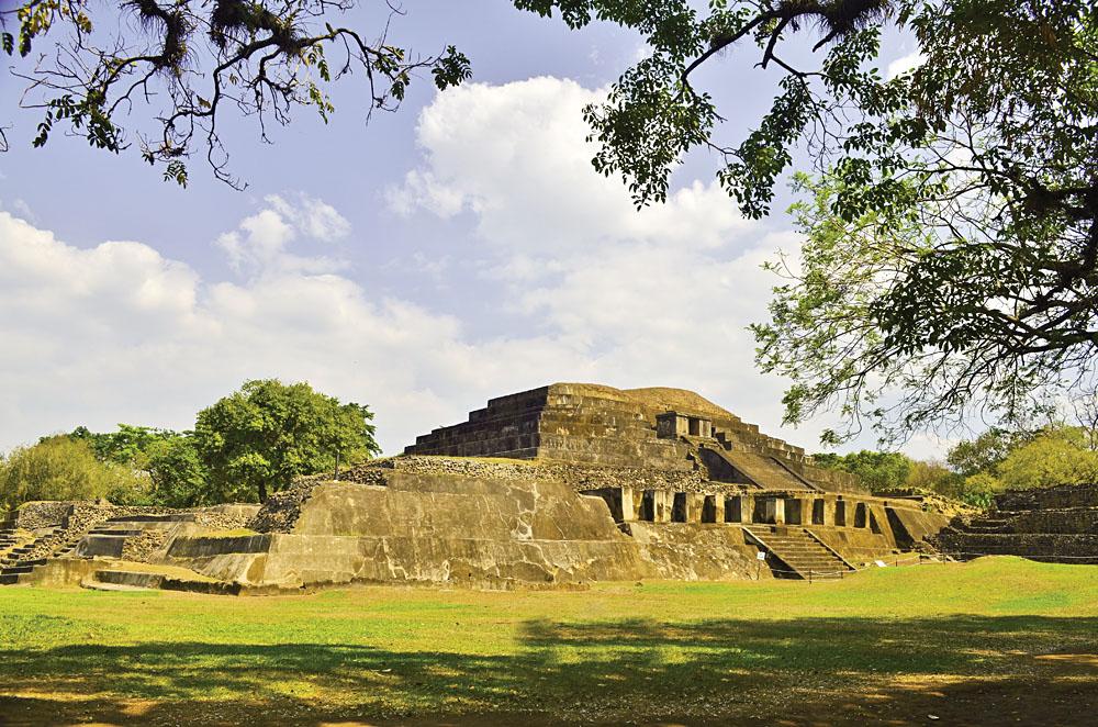 Joya de Ceren Archeological Site in La Libertad Department, El Salvador