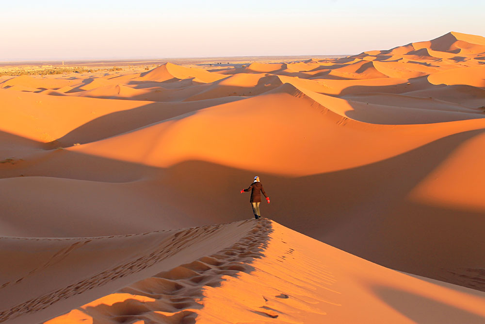 Merzouga Dunes in Morocco