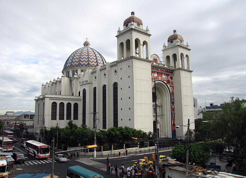 Metropolitan Cathedral of the Holy Saviour in San Salvador, El Salvador