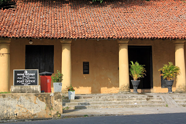 Post Office in the Old Town of Galle, Sri Lanka