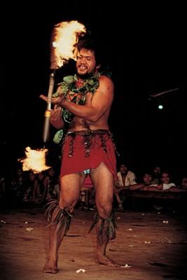 Samoan Fire thrower, Samoa