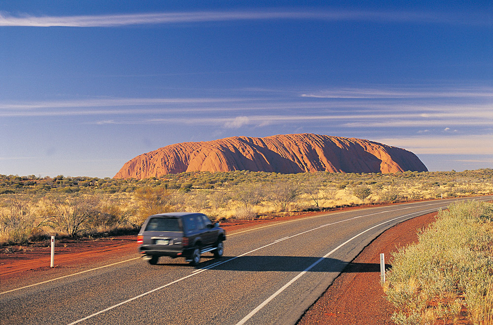 Self Drive to Ayers Rock Uluru in Northern Territory, Australia
