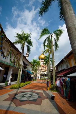 Street in Kampong Glam, Singapore