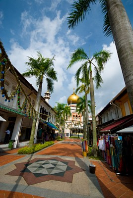 Street in Kampong Glam, Singapore